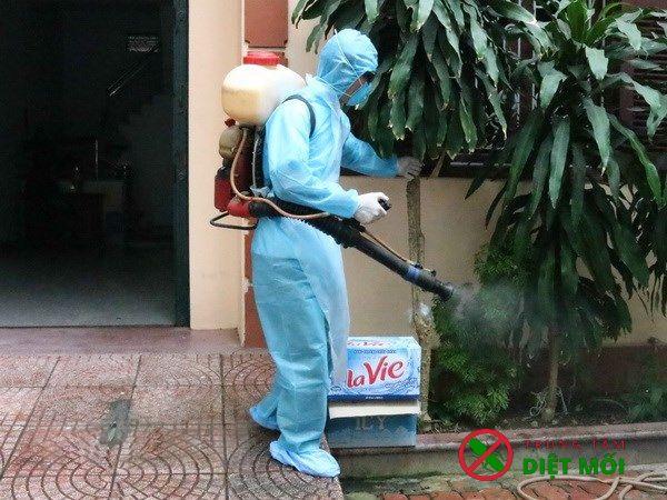 Phun thuốc diệt muỗi tại nhà an toàn