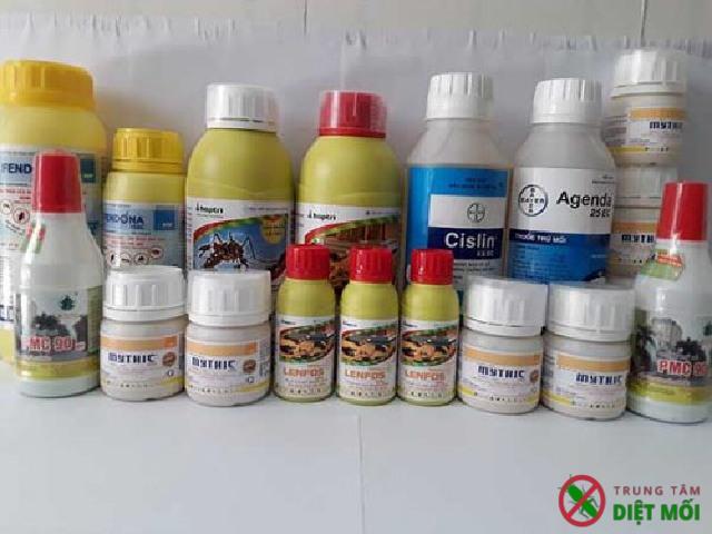 Các loại thuốc diệt côn trùng an toàn