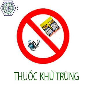 Thuốc Xông Hơi- Khử Trùng, Đại lý cung cấp các sản phẩm thuốc khử khuẩn, Phun Phòng Dịch Hại