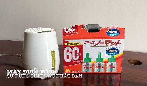 Có nên dùng máy đuổi muỗi của Nhật hay không?